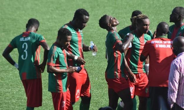 Chaude empoignade entre Choilio et Martial Gohourou autour des raisons de la relégation de l'Africa