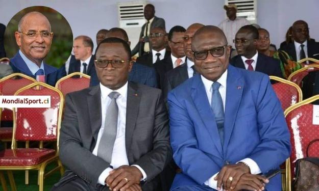 COCAN 2023 : Le Premier Ministre joue le rôle de médiateur entre Danho Paulin et Amichia François
