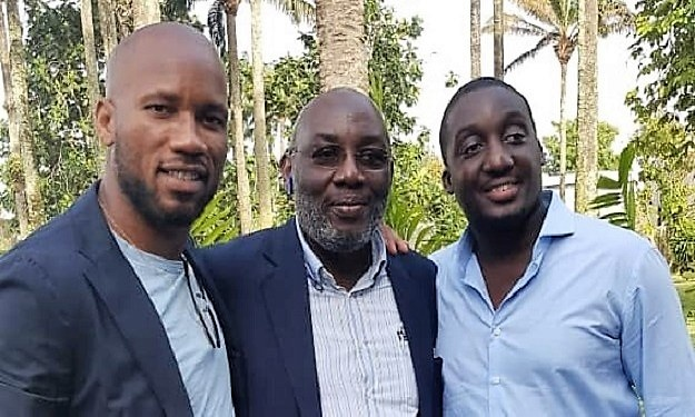 Condoléances : Drogba au domicile du regretté Sidy Diallo