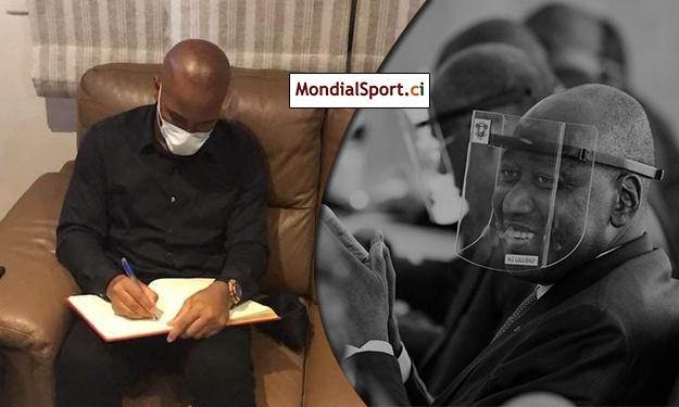 Condoléances : Drogba au domicile de Feu Gon Coulibaly