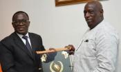 Coopération : Le Ministre des Sports de Côte d'Ivoire reçoit en audience son homologue du Burkina Faso