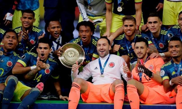 Copa América : La Colombie remporte la petite finale