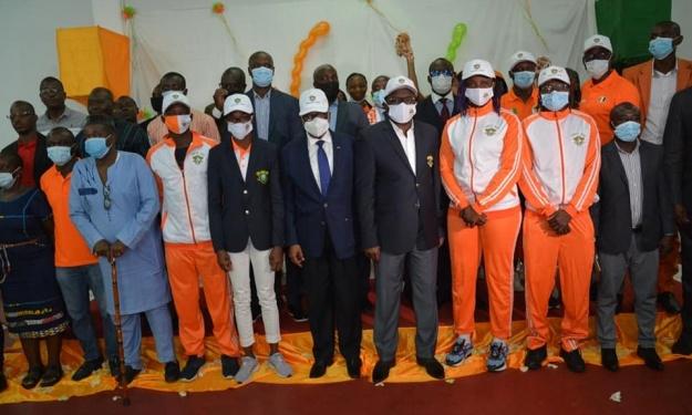 Côte d'Ivoire : Après les footballeurs, les autres athlètes reçoivent leurs kits pour Tokyo
