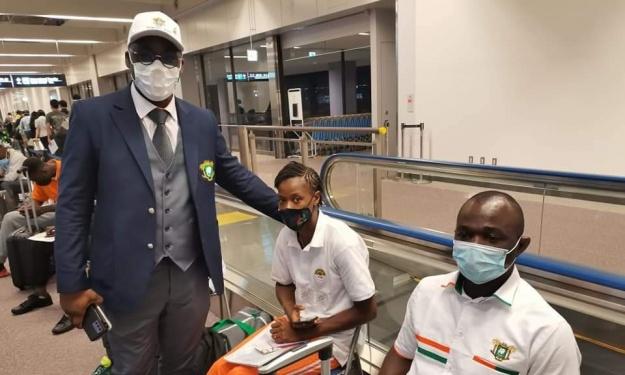 Côte d'Ivoire (JO) : Le DG des Sports donne des nouvelles des Athlètes après leur arrivée à Tokyo