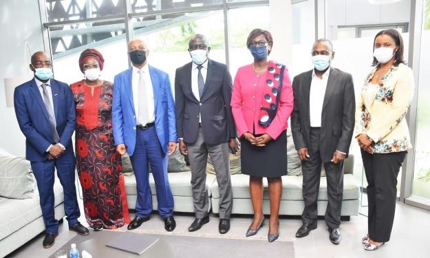 Côte d'Ivoire : Le Président de la CAF est arrivé