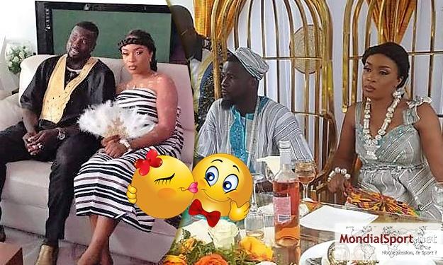Couple : Eboué Emmanuel s'est remarié (Images)