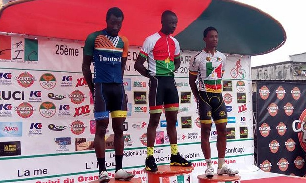 Cyclisme : Le Burkinabé Aziz Nikiéma remporte le Grand prix d'Abidjan