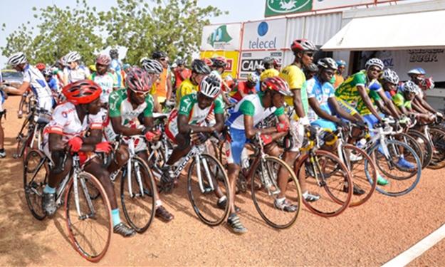 Cyclisme/ Tour du Faso: La première étape au Burkinabé Issaka Kabré