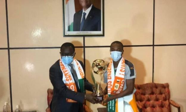 Danho Paulin : Il n'y a pas de petite victoire, toutes les victoires contribuent au rayonnement de la Côte d'Ivoire''