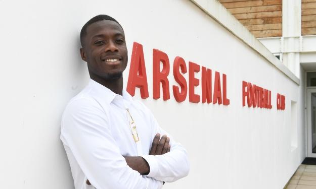 De gardien de but à serial buteur, Pépé retrace son parcours et évoque ses ambitions avec Arsenal