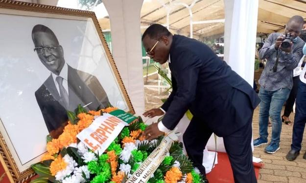 Deuil : Danho Paulin et le Mouvement Sportif Ivoirien ont rendu hommage à Laurent Dona Fologo