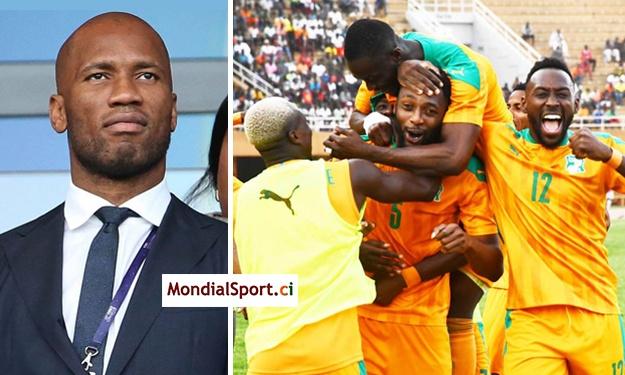 Didier Drogba adresse ses félicitations aux Eléphants après leur qualification à la CAN