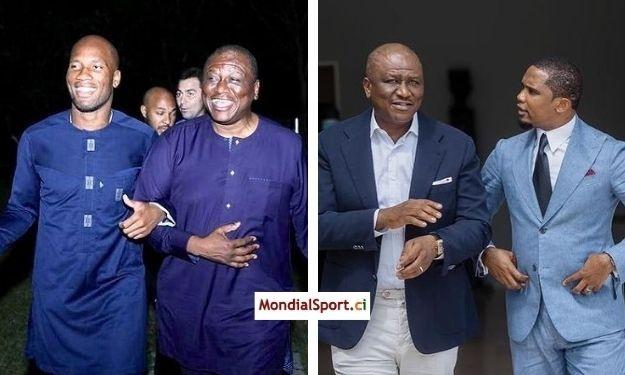 Didier Drogba et Samuel Eto'o rendent un dernier hommage au PM Hamed Bakayoko
