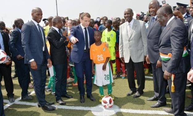 Drogba à propos de l'AGORA : ''Cette bâtisse va donner un accès à la pratique du sport à la jeunesse''
