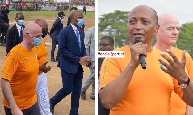Drogba candidat de la FIFA et de la CAF pour la FIF ? La réponse de Patrice Motsepe