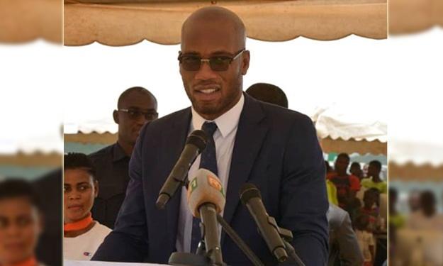 Drogba lors de cérémonie de lancement officiel des travaux de San Pedro : ''Merci de m'avoir honoré !''