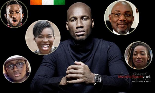 Drogba, Sidy Diallo, Ahouré, … figurent dans le Top 100 des personnalités ivoiriennes les plus influentes en 2018