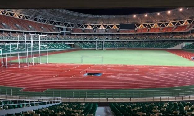 Ebimpé près à 98%, Bouaké et Yakro à 50% … voici les Taux d'exécution des complexes sportifs de la CAN 2023
