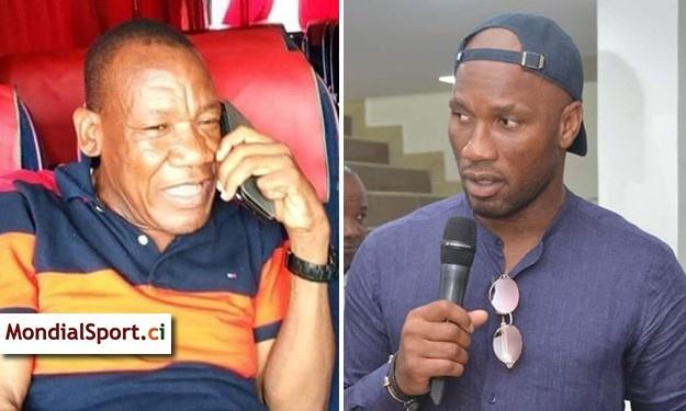 Election FIF   Alexis Vagba : ''Drogba m'a appelé… mais il n'est pas venu !''