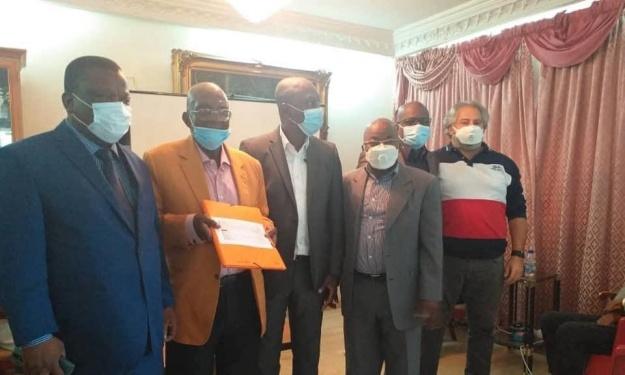 Election FIF : Le Président de la JCAT reçoit Sory Diabaté et son équipe
