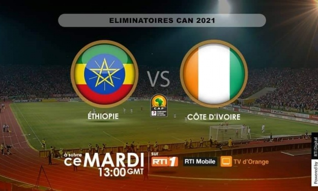 Elim. CAN 2021 (2è J) : Les compos officielles de la rencontre ''Ethiopie – Côte d'Ivoire''
