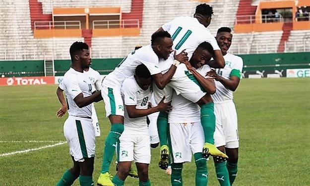 """Elim. CAN U23 : Tous les buts de """"Guinée - Côte d'Ivoire"""" (1-2)"""