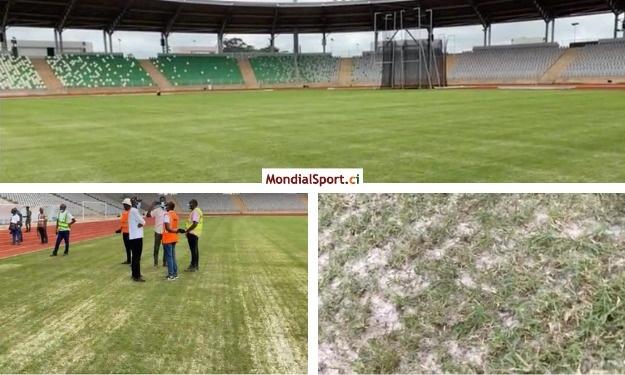 Aspect ''teigneux'' de la pelouse du stade de Yamoussoukro : L'ONS donne des explications
