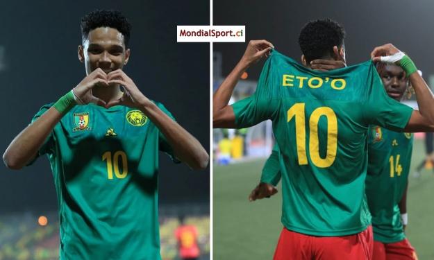 Eto'o réagit après sa performance magistrale à la CAN U20 : ''l'aventure ne fait que commencer''