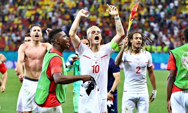 Euro 2020 : La Suisse élimine la France et file en 1/4 pour la 1ère fois en 67 ans