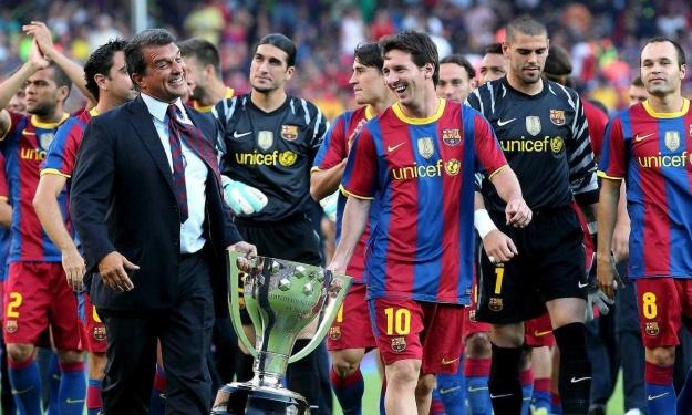 FC Barcelone : Fraichement élu, Joan Laporta met déjà la pression sur Messi