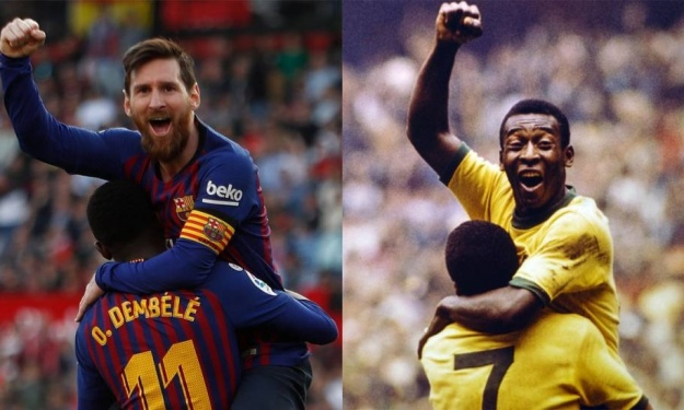 FC Barcelone : Messi s'offre un record du Roi Pelé