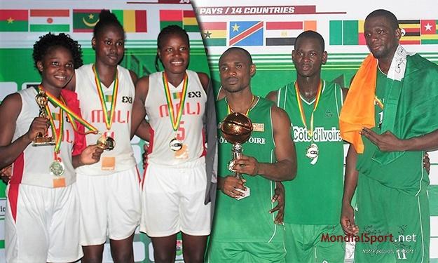 FIBA - Basket 3x3 : La Côte d'Ivoire (Hommes) et le Mali (Dames) sont champions d'Afrique