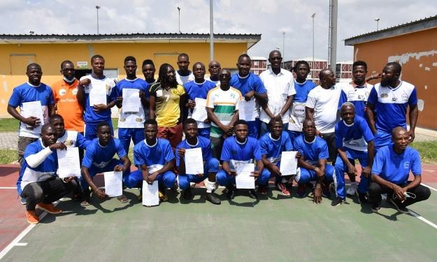 FIF-DTN : La Licence D d'entraineur pour une vingtaine de stagiaires formés à l'INJS