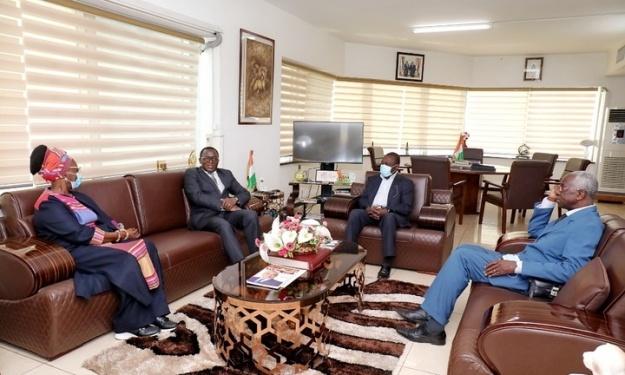 FIF : Le comité de normalisation reçu par le Ministre des Sports