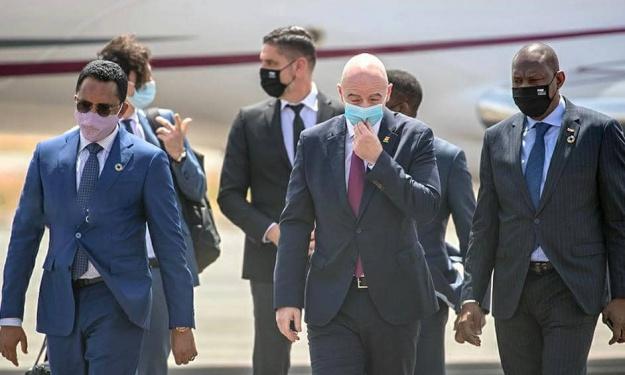 FIFA : Voici la raison du report de la visite de Gianni Infantino en Côte d'Ivoire