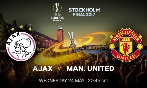 Finale de la Ligue Europa 2017 : Ajax vs United ce 24 mai