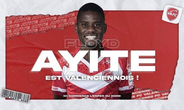 Mercato : Floyd Ayité rejoint Valenciennes