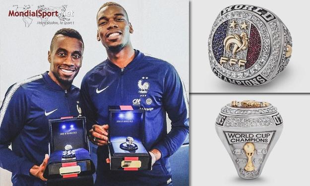 France : 3 carats de diamant, demi-carat de rubis… tout savoir sur la bague des Champions du Monde