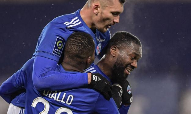 France (L1) : Aholou décisif, Strasbourg signe son plus gros score de la saison