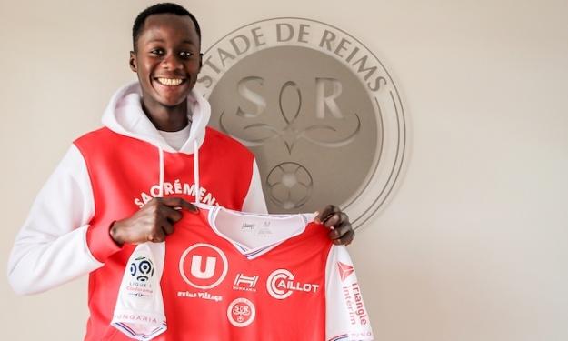 France - Stade de Reims : Moustapha Mbow (18 ans) rejoint le groupe Pro 2