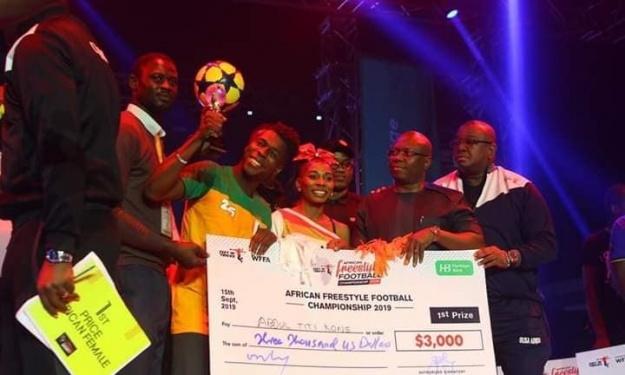 Freestyle : L'Ivoirien Titi Koné de nouveau sur le toit de l'Afrique