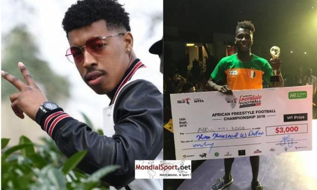 Freestyle : Presnel Kimpembe félicite Titi Koné