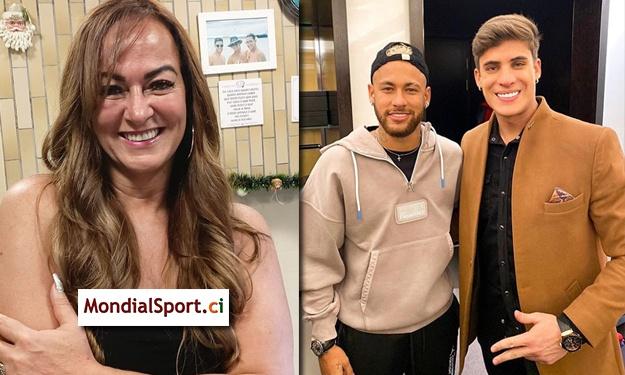 ''Gnanhi'' d'un jeune mannequin de 22 ans, la mère de Neymar officialise sa relation ; son fils valide !