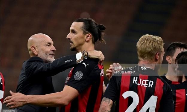 Grâce à un doublé de Zlatan, l'AC Milan domine l'Inter