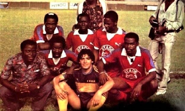 Il était une fois Diego Maradona à Abidjan