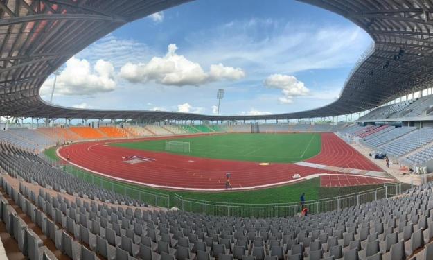 Infrastructures : 20 images inédites du tout nouveau Stade de Yamoussoukro