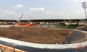 Infrastructures : Achevé à 76%, le stade de Yamoussoukro reçoit sa pelouse la semaine prochaine