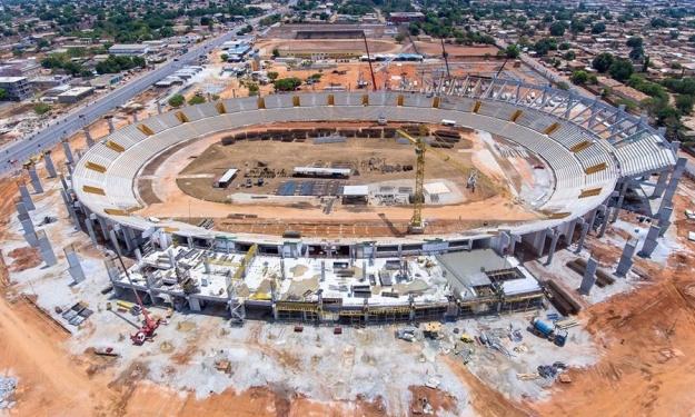 Infrastructures CAN 2023 : Pose des gradins, élévation des murs des vestiaires… ce qui a été fait à Bouaké