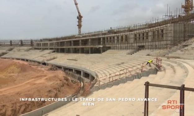 Infrastructures CAN 2023 : Stade, village CAN, terrains d'entraînement... voici l'état des lieux à San Pedro