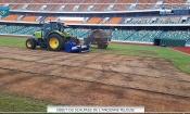 Infrastructures : La pelouse du Stade d'Ebimpé retirée